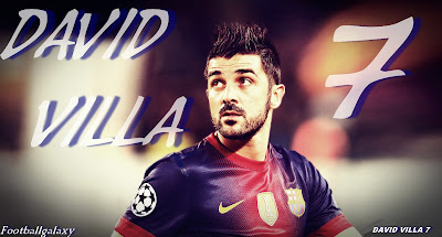David Villa 2013 Wallpaper HD By Football Galaxy David Villa 7 image HD picture FCB