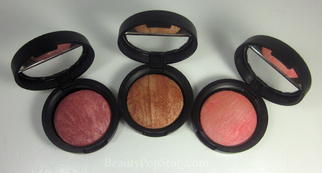 qvc laura geller baked stackable macaroons baked brulee blushes review