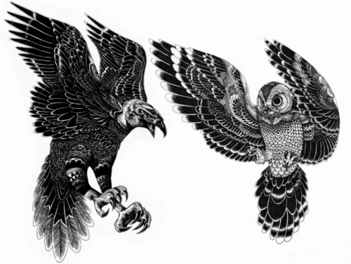 00-Iain-Macarthur-Precision-in-Surreal-Wildlife-Animals-Drawings-www-designstack-co