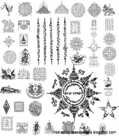 Thai Tatoo Tattoo Designs