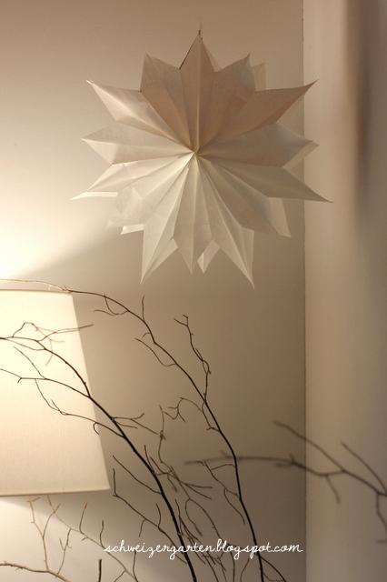 Ein Schweizer Garten Diy Schneller Papierstern Aus Butterbrottüten