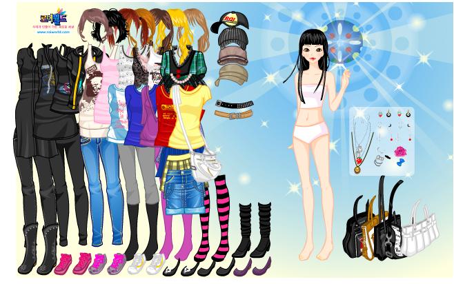 Online Girl Games Dress Up