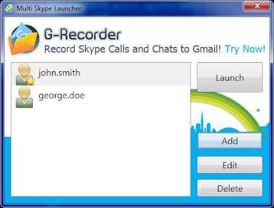 How To Log In To Multiple Skype Accounts on startup