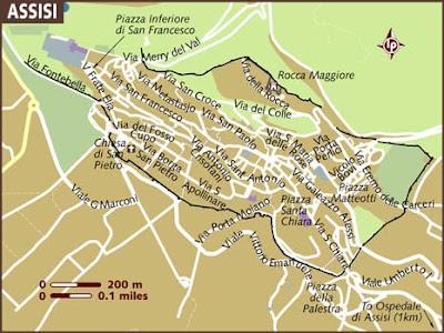 Mappa Politica di Assisi