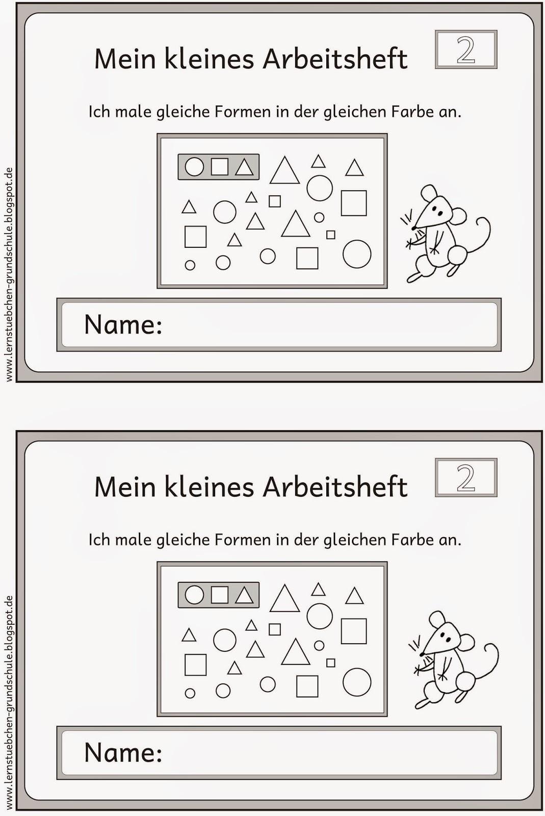 Niedlich Formen Arbeitsblatt Für Kindergarten Ideen - Mathe ...