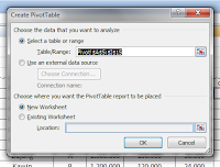 Form Tampilan Data PivoTabel Excel