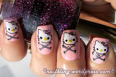 Hello Kitty and Crossbones