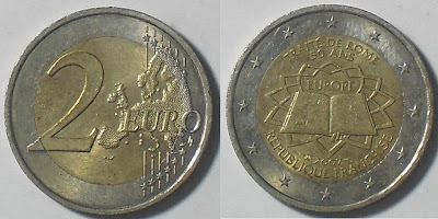 france 2 euro treaty of rome 2007