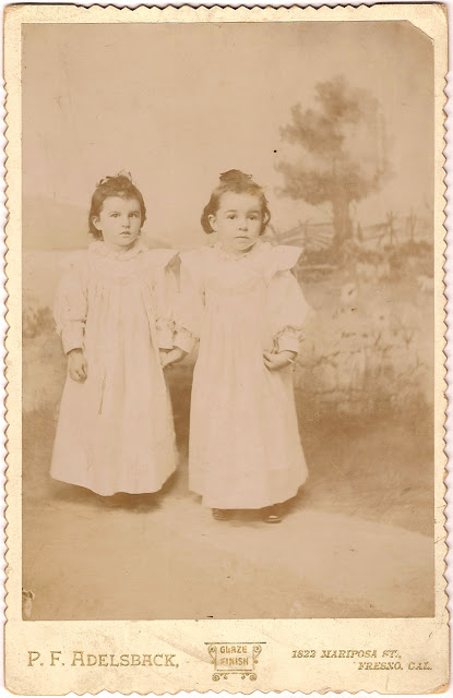 Leona Grant of Redwood City as child