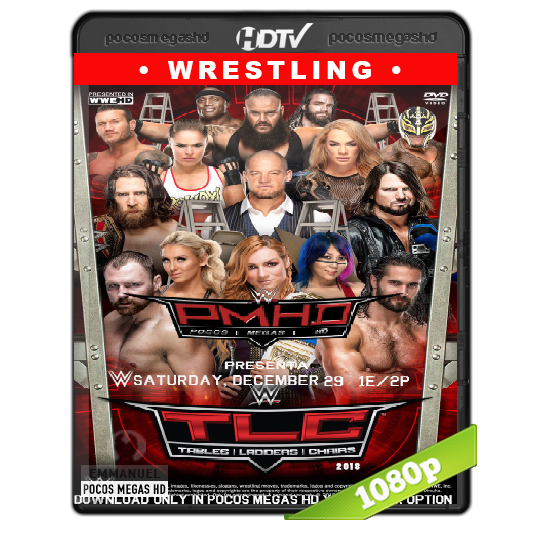 WWE TLC  (2018) HDTV 1080p Latino/Ingles (Both brands)