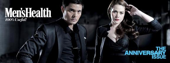 Bea ALonzo and Dingdong Dantes for Men's Health May 2013 issue