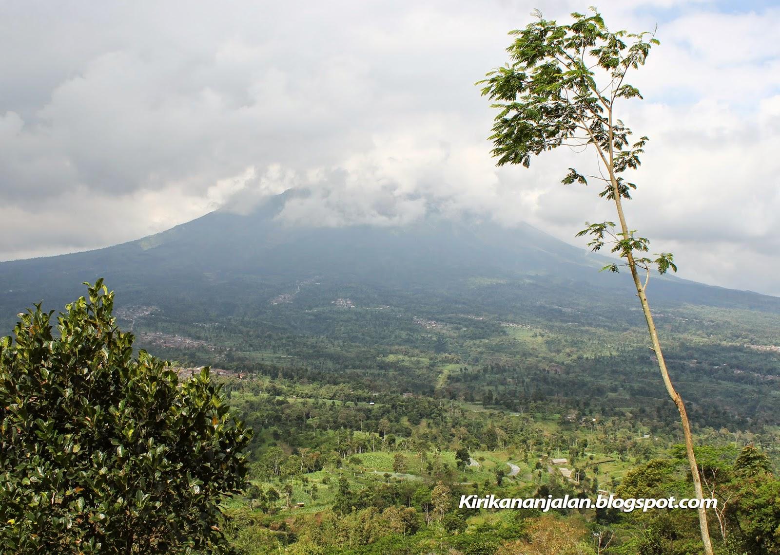 Objek Wisata Ketep Pass Magelang Jateng