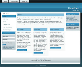 seo Joomla 1.7 business template