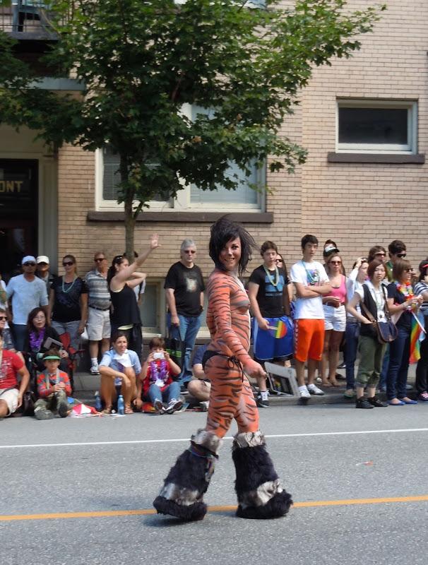 Tiger lady 33rd Vancouver Pride Parade