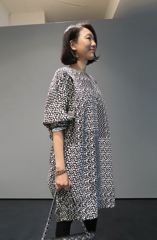 Multi-Patterned Dress