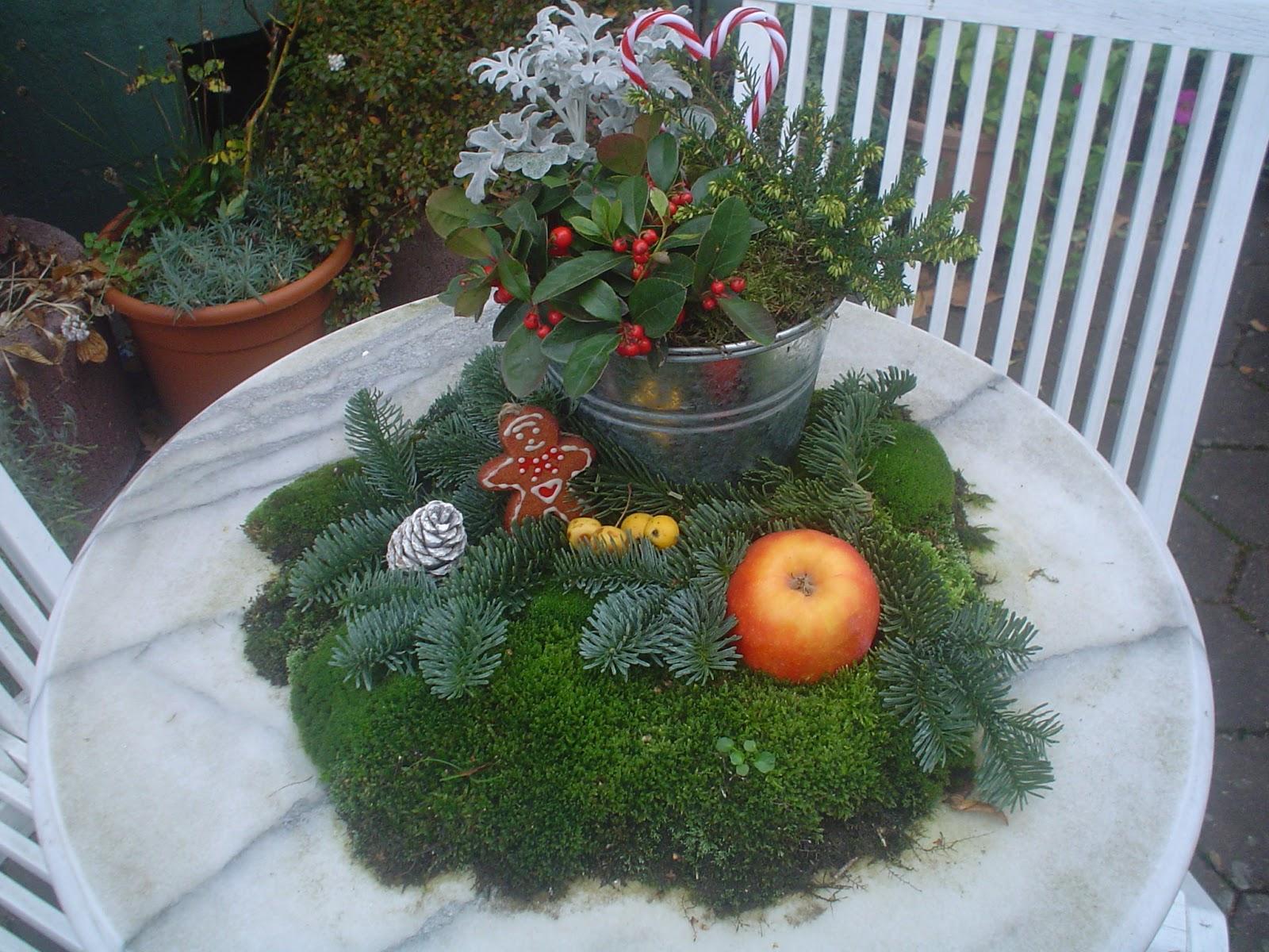 Litonya zeit f r die weihnachtsdekoration for Garten marmortisch