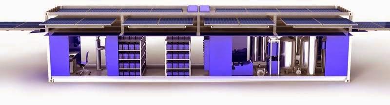 Ecos PowerCube, Container Mobile de l'énergie Solaire