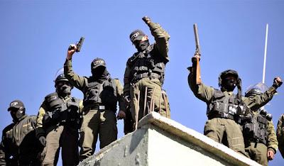 la proxima guerra agentes policia amotinados motin revuelta bolivia golpe de estado
