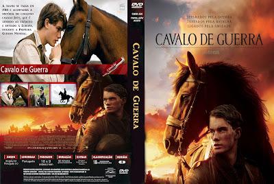 Cavalo de Guerra DVD Capa