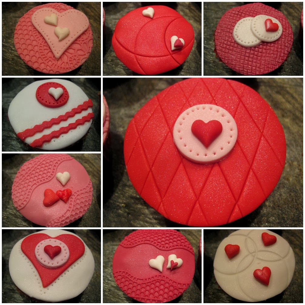 Cupcakes for Valentine, Be my Valentine
