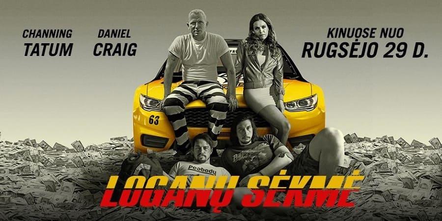 Logan Lucky - Roubo em Família BluRay 2017 Filme 1080p 720p Bluray HD completo Torrent