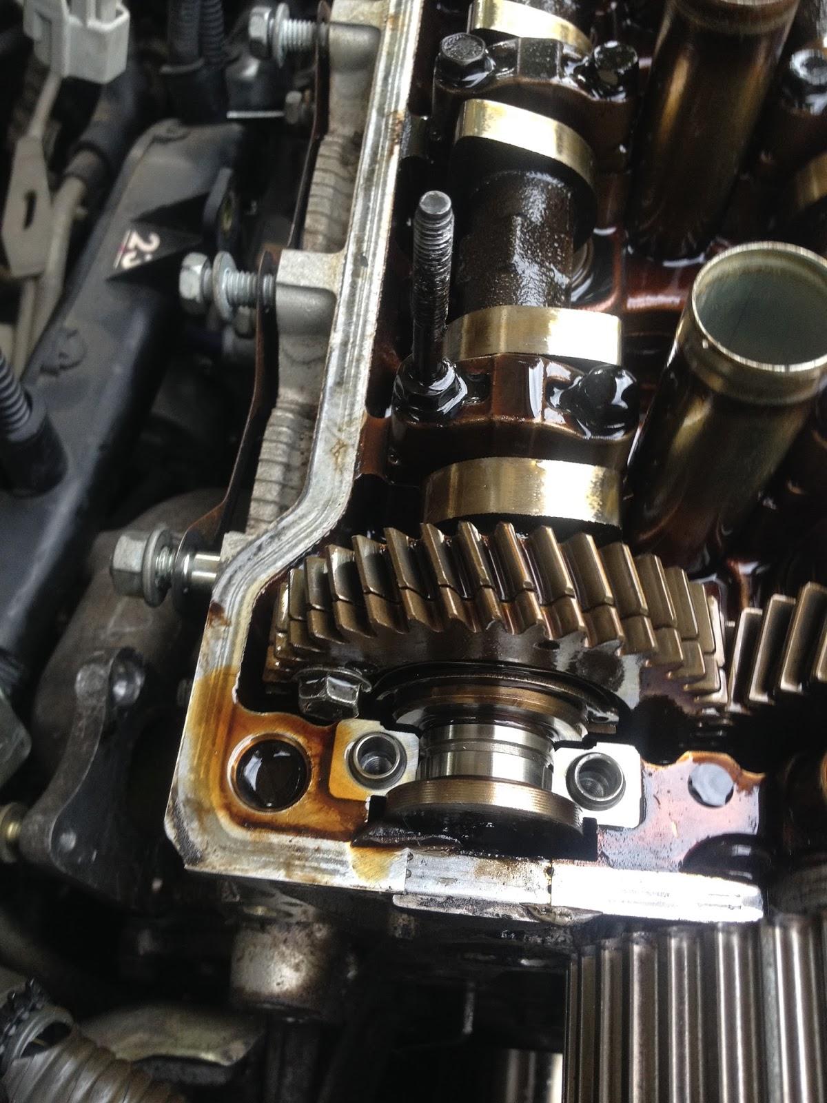 Wrenching That Car 4afe Cylinder Head Removal 4af Wiring Harness Camshaft Sprocket