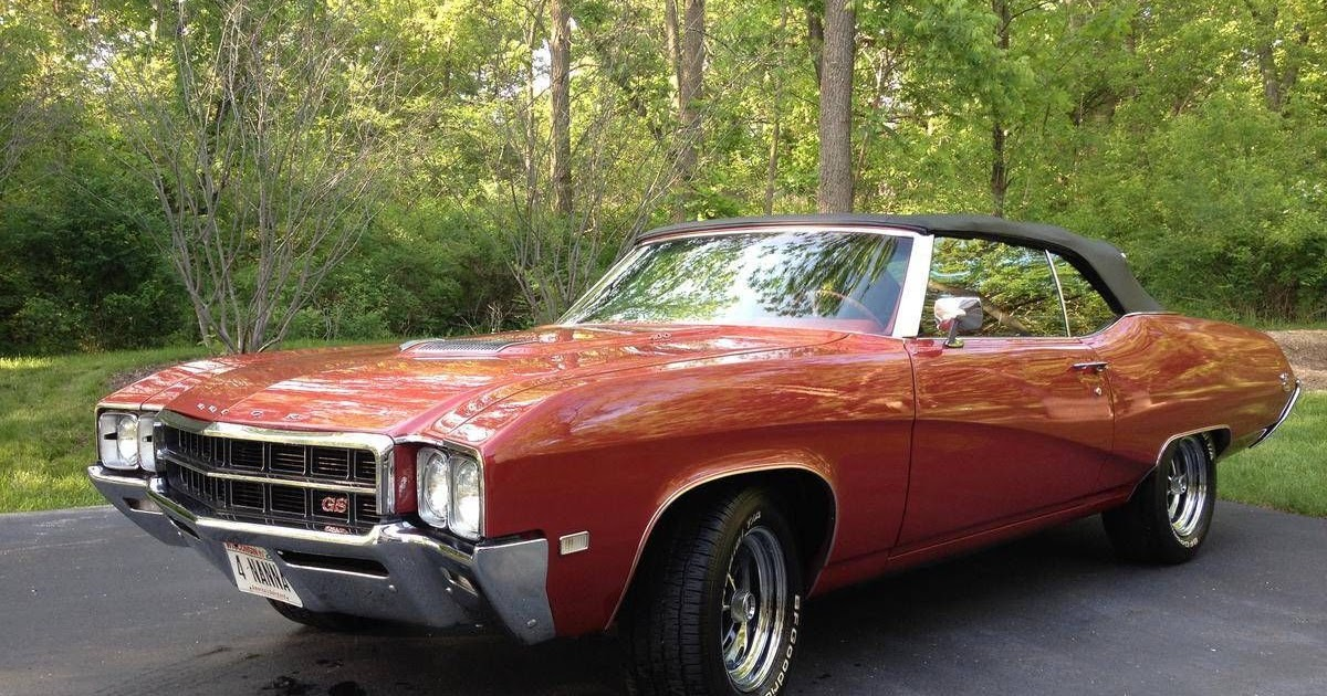 All american classic cars 1969 buick gs 400 2 door for Classic american convertibles