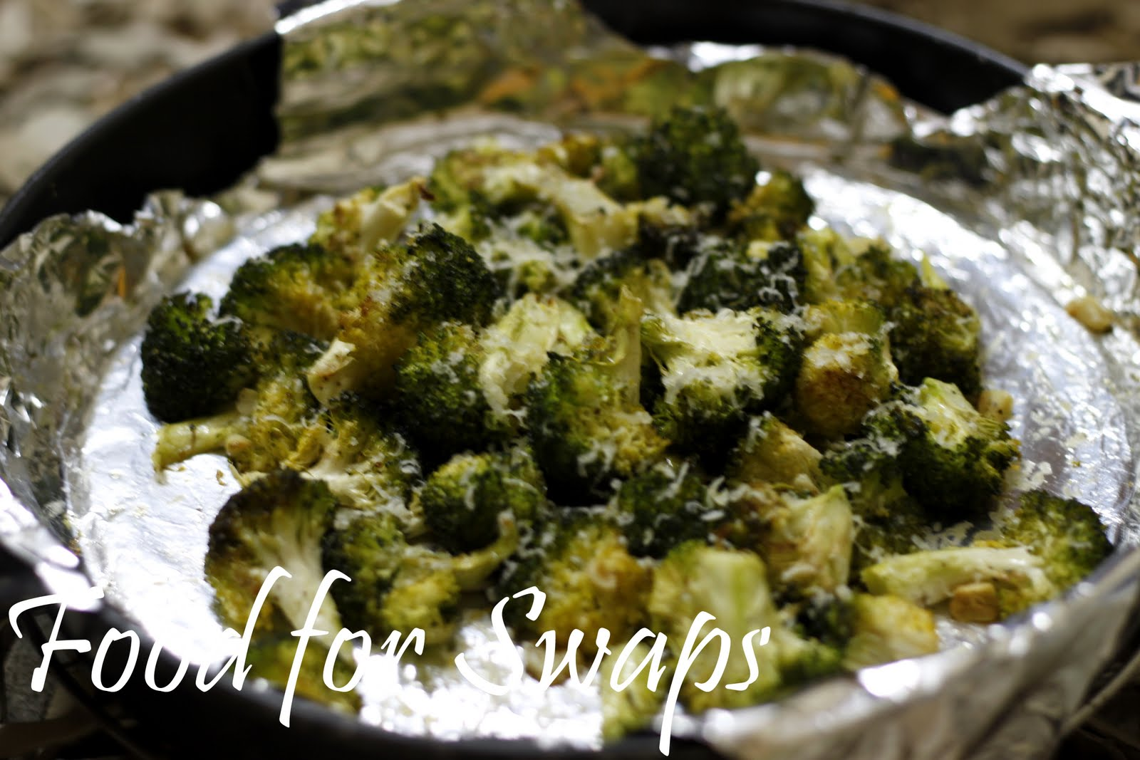 Food for Swaps: Zesty Roasted Broccoli