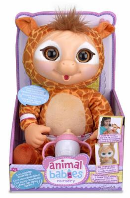 TOYS : JUGUETES - ANIMAL BABIES - Jirafa : Peluche Producto Oficial 2015 | Famosa 700012501 | A partir de 2 años Comprar en Amazon España
