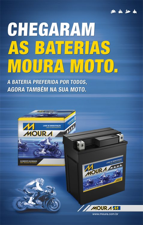 Bateria de Moto Moura Aqui