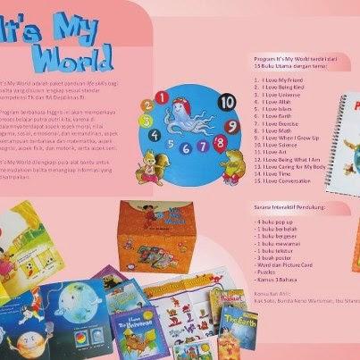 Paket Buku Anak Its My World | TOKO BUKU ONLINE SURABAYA