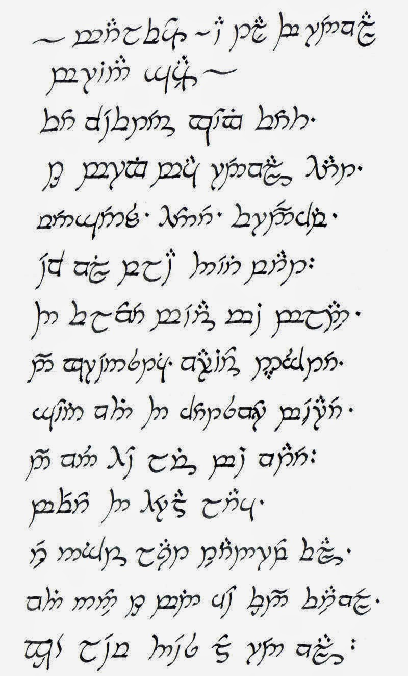 The Elvish Language