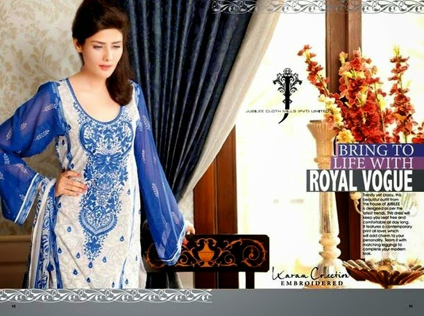 Premium Embroidered Lawn Dresses