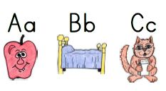 Little Literacy Learners Introducing Letters And Sounds Mnemonics