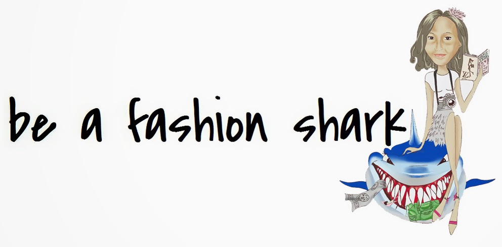 be a fashion shark