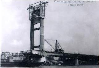 Sejarah Jembatan Ampera Dan Proses Pembuatannya