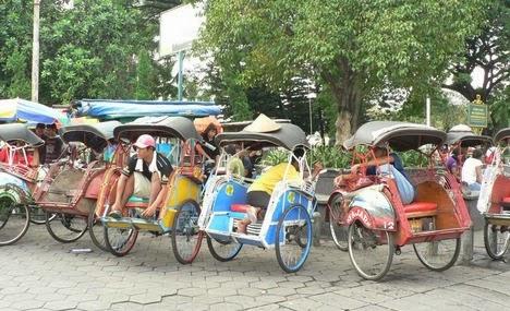 Becak dan sejarahnya