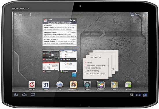 Verizon motorola xoom 2 tablet plan price
