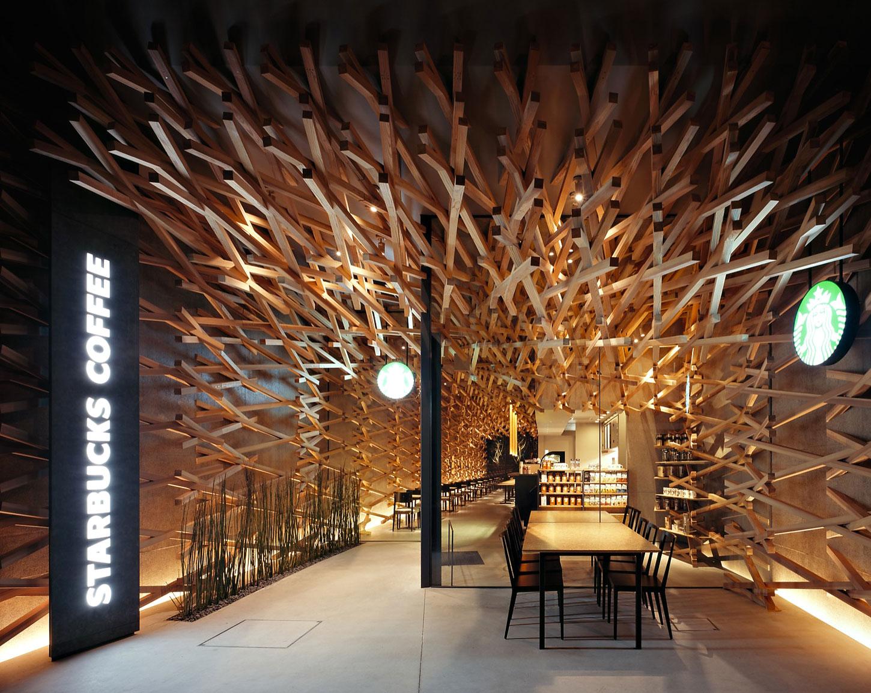 Starbucks Coffee by Kengo Kuma & Associates