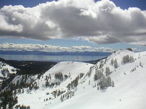 LAKE TAHOE FROM ALPINE MEADOWS