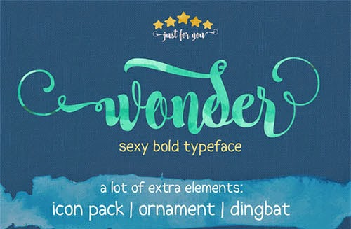 Wonder Font Free Download Freebies Psd