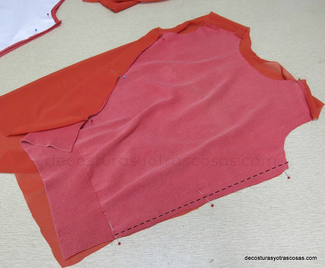 coser laterales