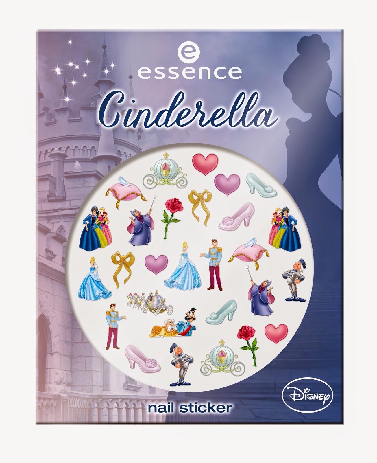 essence cinderella – nail sticker - www.annitschkasblog.de