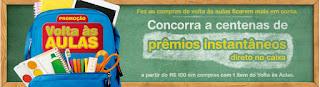 Participar promoção Carrefour Volta às Aulas