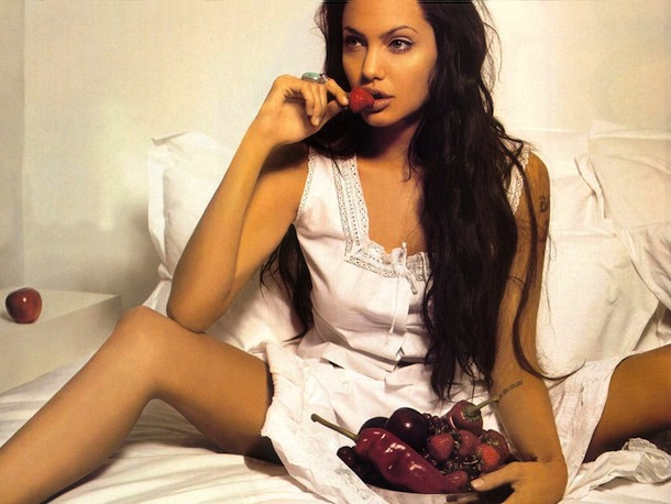 Angelina Jolie hungry