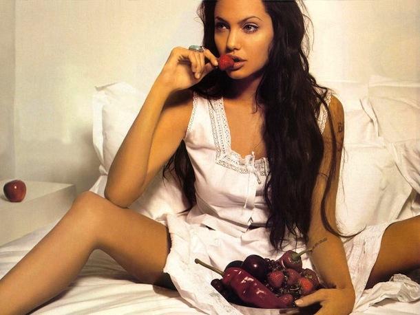 Angelina Jolie hungry