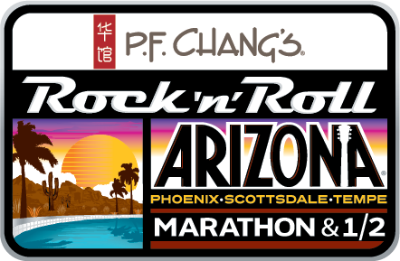 rock & roll arizona marathon logo