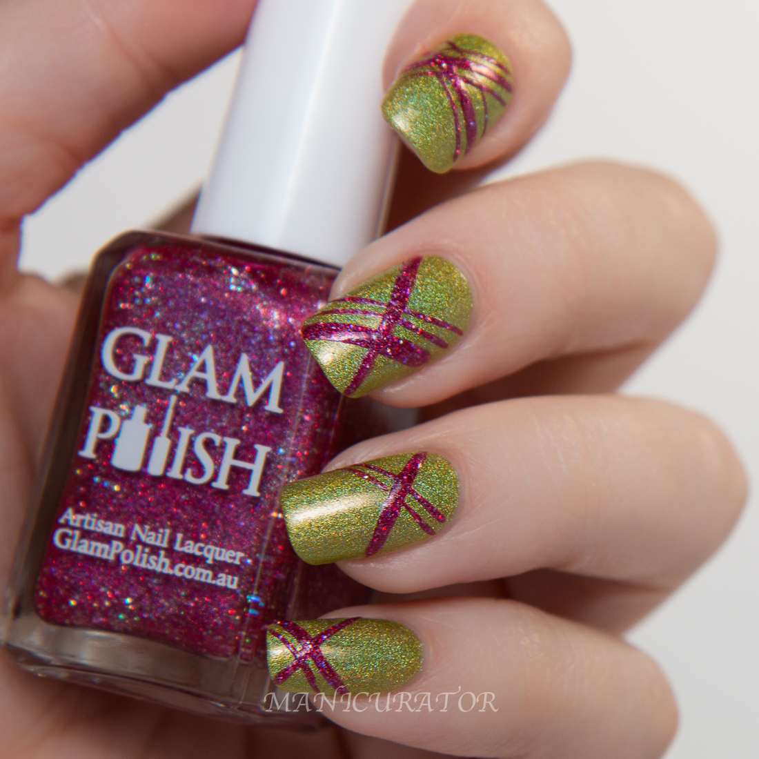 Glam-Polish-Knockout-zap-bang-nail-art-Swatch