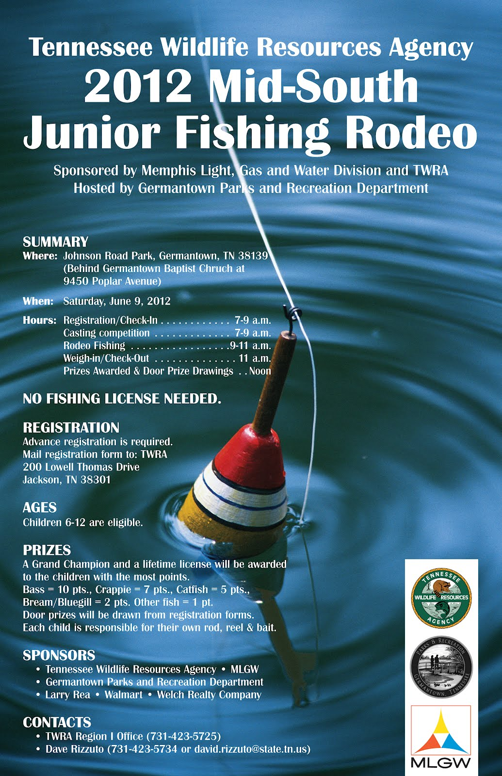 Bird on a wire may 2012 for Lifetime hunting and fishing license tn