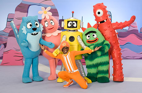 top cartoon for kids yo gabba gabba